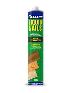 SELLEYS LIQUID NAILS ORIGINAL - BEIGE 320GRM