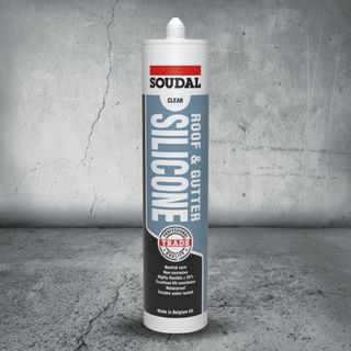 SOUDAL ROOF & GUTTER SILICONE - GREY 300ML