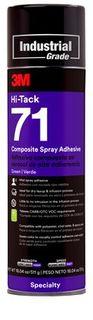 3M HI-TACK #71 COMPOSITE SPRAY ADHESIVE - 511G
