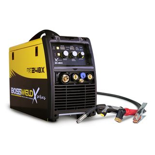 BOSSWELD X-SERIES MST 248X MIG/STICK/TIG INVERTER WELDER BUNDLE