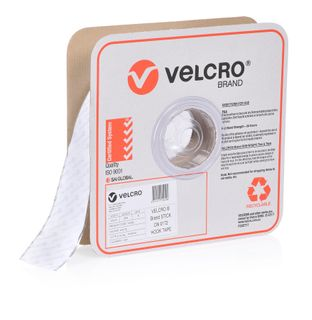 VELCRO BRAND 50MM PRESSURE SENSITIVE 0172 TAPE HOOK – WHITE 25MTR