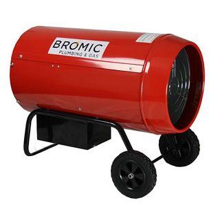 BROMIC HEAT-FLO 30KW LPG-FIRED INDUSTRIAL BLOW HEATER HF-30