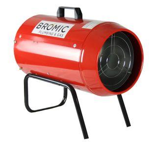 BROMIC HEAT-FLO 20KW LPG-FIRED INDUSTRIAL BLOW HEATER HF-20