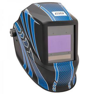 WIA OPTICFX AUTO-DARKENING WELDING HELMET - BLUE KNIGHT