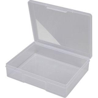 FISCHER 1 COMPARTMENT STORAGE BOX - CLEAR