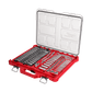 """MILWAUKEE SAE & METRIC RATCHET & SOCKET SET WITH PACKOUT™ 1/4"""" & 3/8"""" - 106 PCE"""