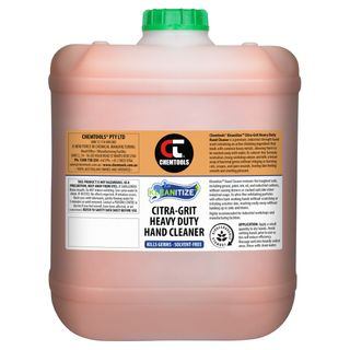 CHEMTOOLS KLEANITIZE CITRA GRIT HEAVY DUTY HAND CLEANER - 20L