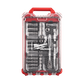 """MILWAUKEE RATCHET & SOCKET SET WITH PACKOUT™ 3/8"""" – 38 PCE"""