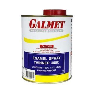 GALMET 300C ENAMEL SPRAY THINNERS - 1LTR