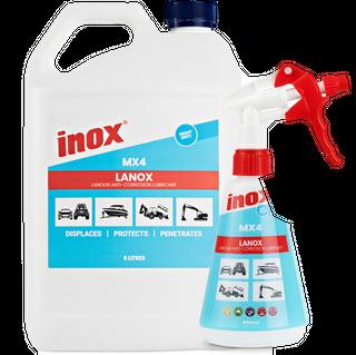 INOX LANOX MX4 LANOLIN LUBRICANT -  5LTR