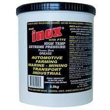 INOX MX8 EXTREME PRESSURE PTFE GREASE - 2.5KG