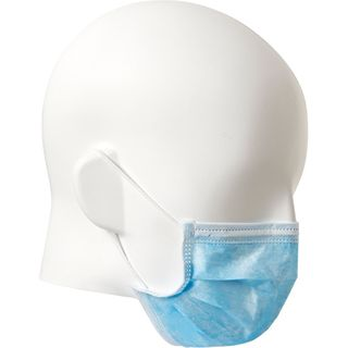 PRO CHOICE DISPOSABLE 3 PLY FACE MASK BLUE - 50 PER BOX