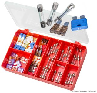 TORRES GLASS TUBE & BLADE FUSES ASSORTED KIT