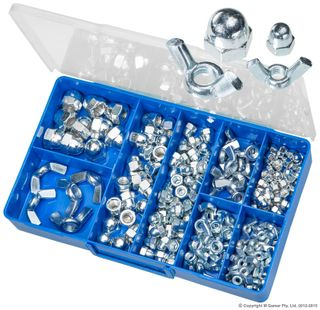 TORRES WING & DOME NUTS ASSORTED KIT