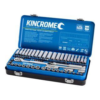 "KINCROME SOCKET SET 82 PIECE 1/4"" DRIVE - METRIC & IMPERIAL"