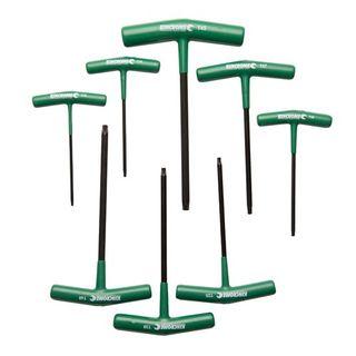 KINCROME T-HANDLE TORX® HEX KEY SET - 8PCE