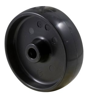 """FALLSHAW M SERIES 100MM (4"""") NYLON WHEEL - BLACK 150KG"""