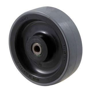 """FALLSHAW J SERIES 125MM (5"""") POLYURETHANE (PU) WHEEL - BLACK 300KG"""