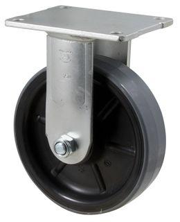 """FALLSHAW H SERIES 150MM (6"""") FIXED PLATE CASTOR - 450KG"""