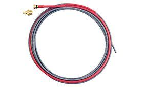 BERNARD (STYLE) STEEL RED LINER (1.2 - 1.6MM) - 4.6MTRES