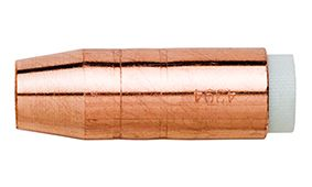 """BERNARD (STYLE) 12.5MM (1/2"""") TAPERED COPPER NOZZLE WITH INSULATOR"""
