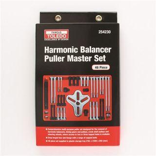 TOLEDO HARMONIC BALANCER PULLER SET - 46PC