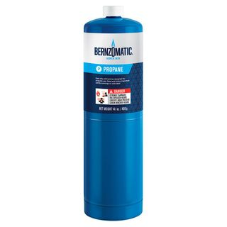 BERNZOMATIC BLUE PROPANE CYLINDER - 400G