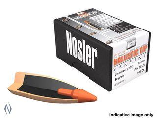 NOSLER 22CAL .224 55GR BALLISTIC TIP PROJECTILES 100PK