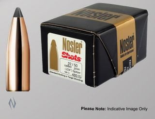 NOSLER 6MM .243 55GR SHOTS PROJECTILES 100PK