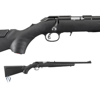RUGER AMERICAN RIMFIRE SYNTHETIC BLUED COMPACT 17HMR