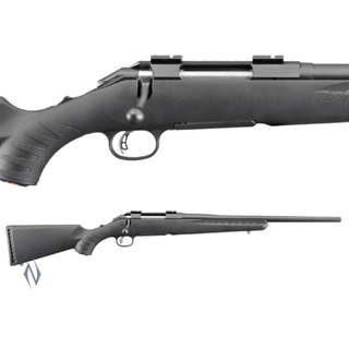 RUGER AMERICAN RIFLE SYNTHETIC BLUED COMPACT 308