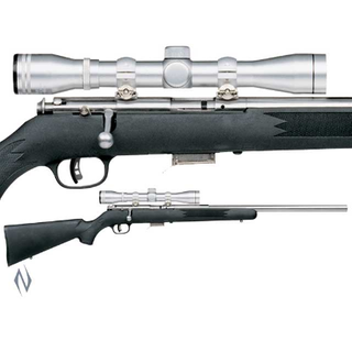 SAVAGE 93 FVSS SYNTHETIC STAINLESS VARMINT PACKAGE 22MAG