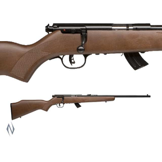 SAVAGE MKII GY BLUED WOOD YOUTH 10 SHOT 22LR