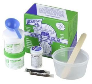 ACRAGLAS GLASS BEDDING KIT GEL