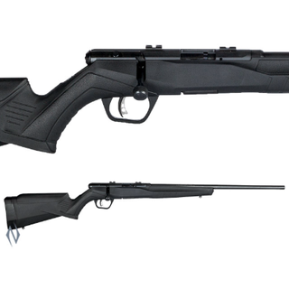 SAVAGE B17 F BLUED SYNTHETIC 17HMR 10 SHOT