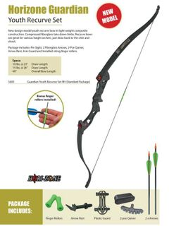 HORI-ZONE GUARDIAN YOUTH RECURVE BOW SET