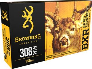 BROWNING BXR 308WIN 155GR REMT 20PKT