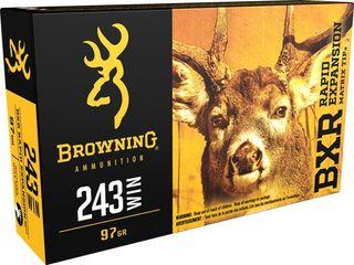 BROWNING BXR 243WIN 97GR REMT 20PKT