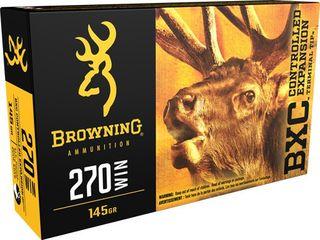 BROWNING BXC 270WIN 145GR CETT 20PKT