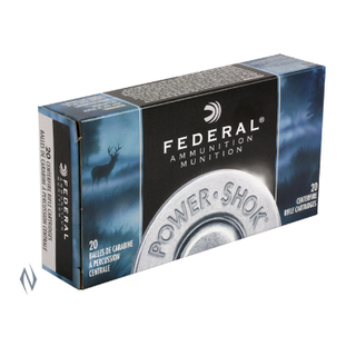 FEDERAL POWER-SHOK 338WIN 225GR SP 20PKT