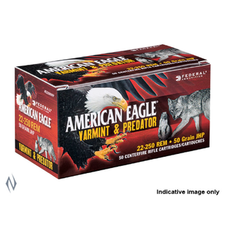FEDERAL AMERICAN EAGLE 17HORNET 20G TIPPED 50PKT
