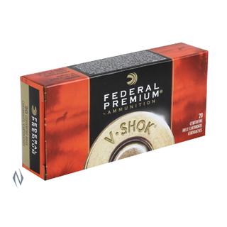 FEDERAL PREMIUM V-SHOK 223REM 55GR NOSLER BTIP 20PKT