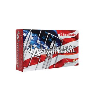 HORNADY AMERICAN WHITETAIL 308WIN 165GR SP 20PKT