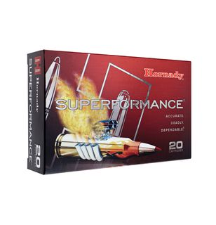 HORNADY SUPERFORMANCE 6.5X55 120GR GMX 20PKT