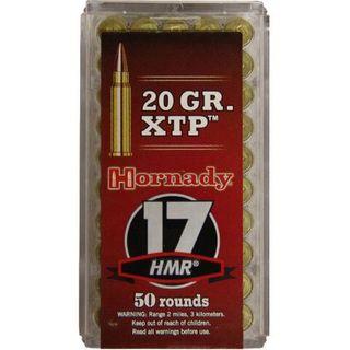 HORNADY VARMINT EXPRESS 17HMR 20GR XTP 50PKT