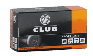 RWS CLUB 22LR 40GR 50PKT