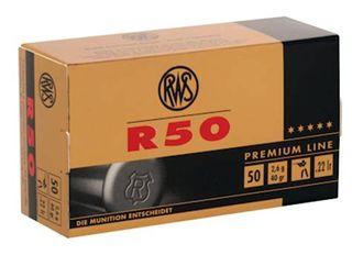 RWS R50 PREMIUM 22LR 40GR 50PKT