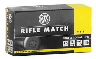 RWS RIFLE MATCH 22LR 40GR 50PKT