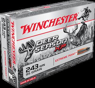 WINCHESTER DEER SEASON 243WIN 95GR XP 20PKT