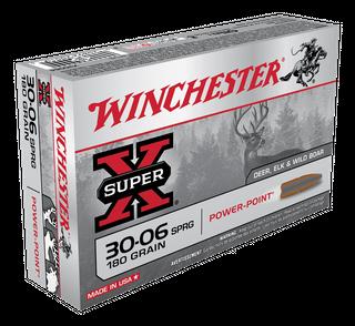 WINCHESTER SUPER X 30-06SPRG 180GR PP  20PKT